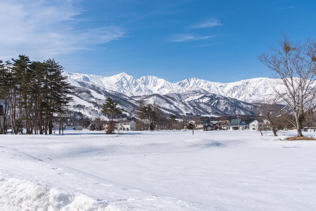 Five best places to get married in Japan: Hakuba