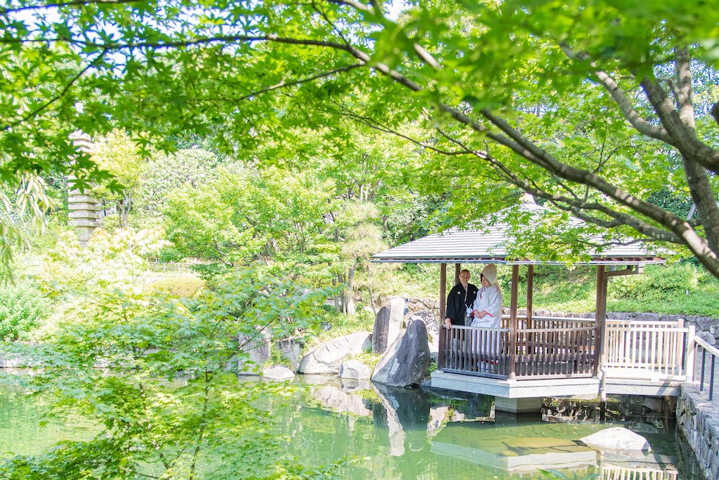 Japanese Garden Wedding Photoshoot