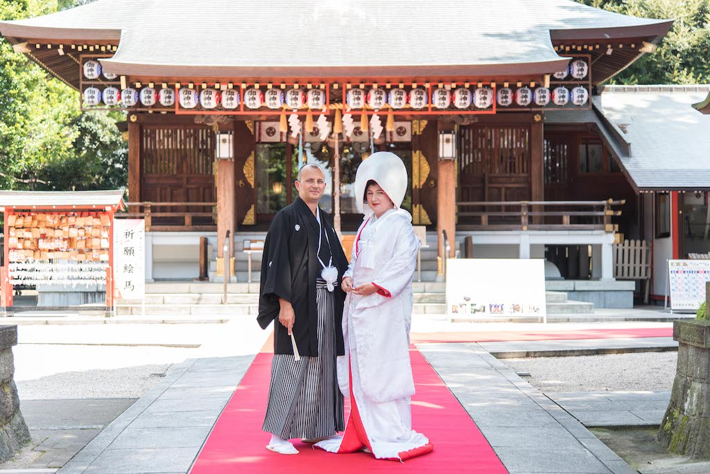 Japanese Shrine Wedding