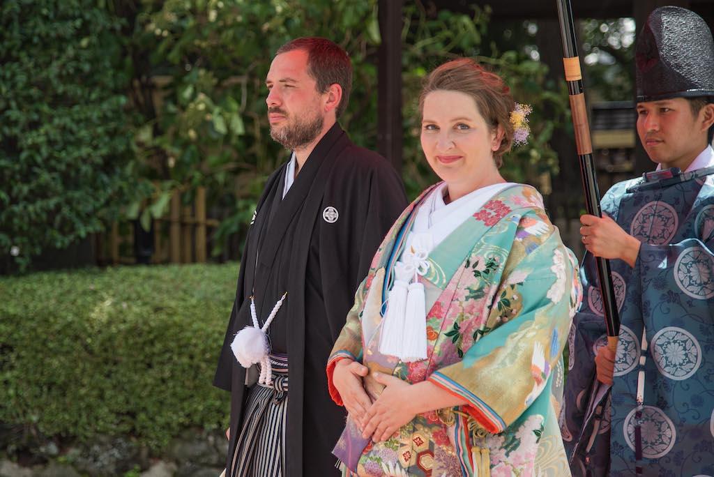 Kimono Wedding for Foreigners