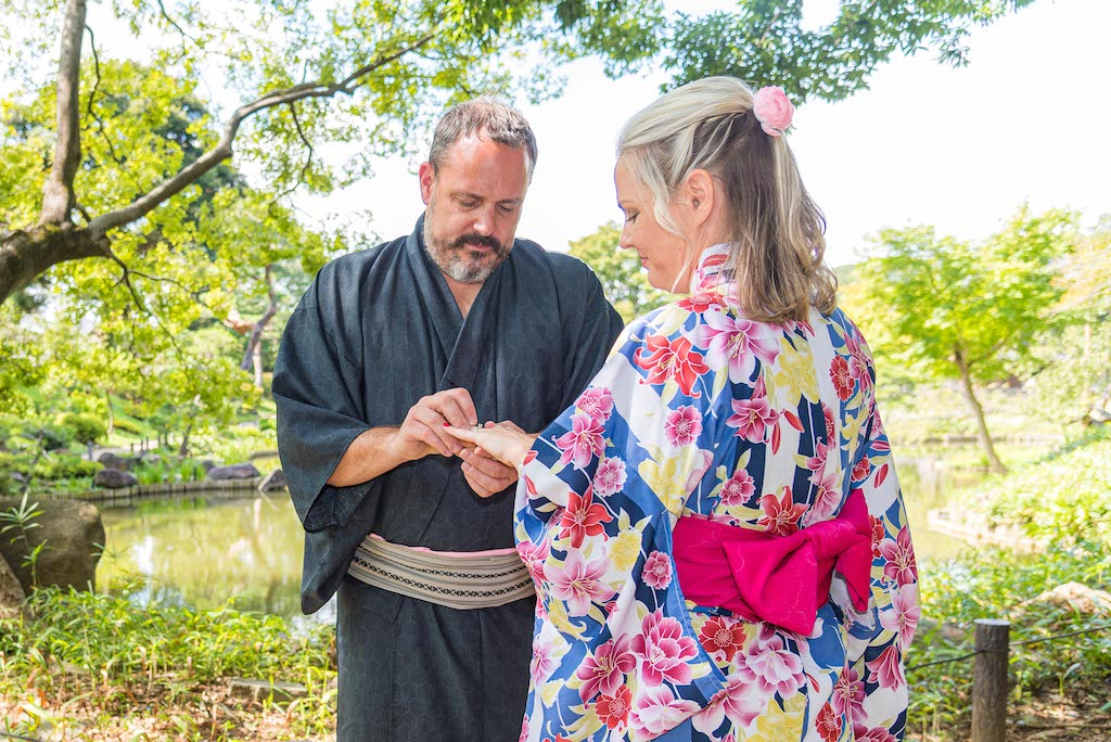 Japanese Elopement Ceremony