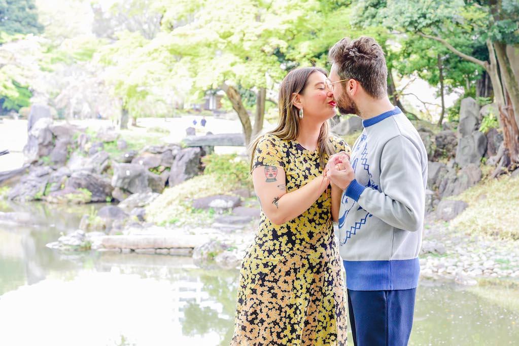 Surprise Vow Renewal in Tokyo