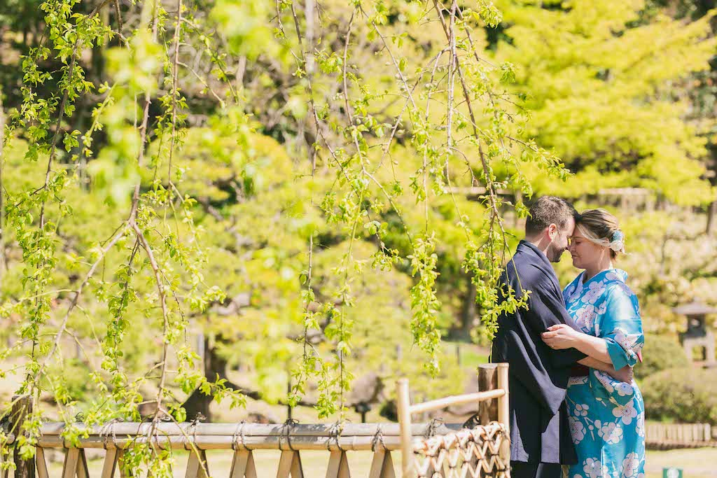 Destination Vow Renewal in beautiful Japanese Garden in Tokyo