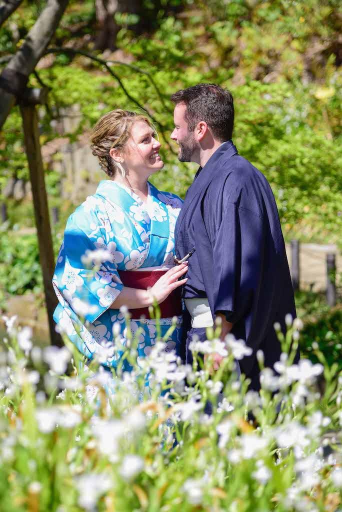 Japanese Garden Kimono Photo-Shoot