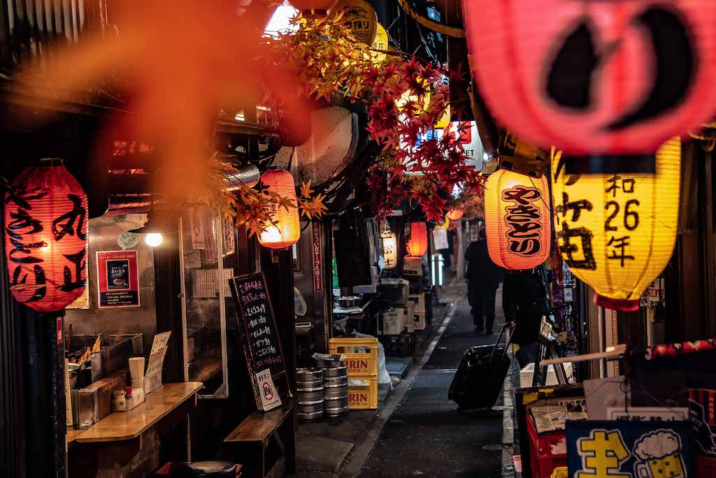 Top things to do in Shinjuku - Piss Alley (Omoide Yokocho). Photography: https://www.instagram.com/rossharrison_tokyo/